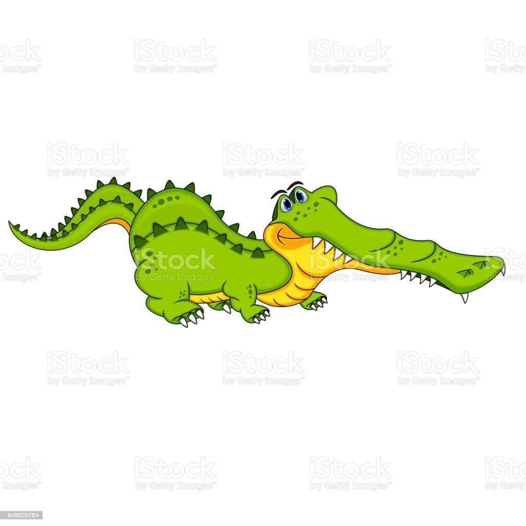 Crocodilo bonito dos desenhos animados ilustração de crocodilo bonito dos  desenhos animados e mais banco de ef78a6d127