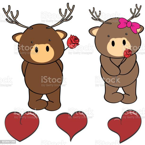 Cute deer cartoon love heart set vector id820667266?b=1&k=6&m=820667266&s=612x612&h=juezu3pkdh r2balpblz 1rqin6fg0qqnp xjypdues=