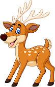 illustration of Cute deer cartoon