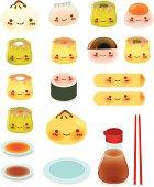 Cute DimSum Collection