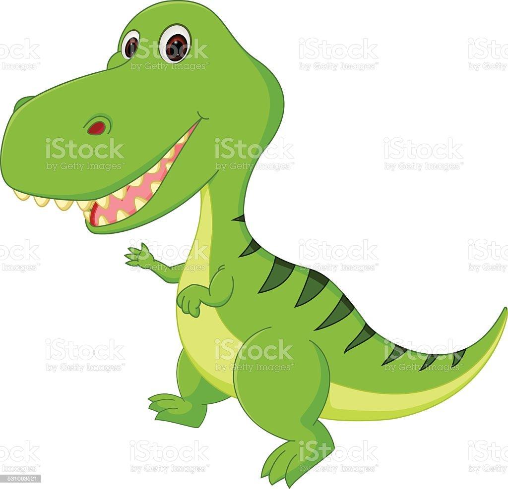Süße Dinosaurier Cartoon Stock Vektor Art Und Mehr Bilder Von 2015