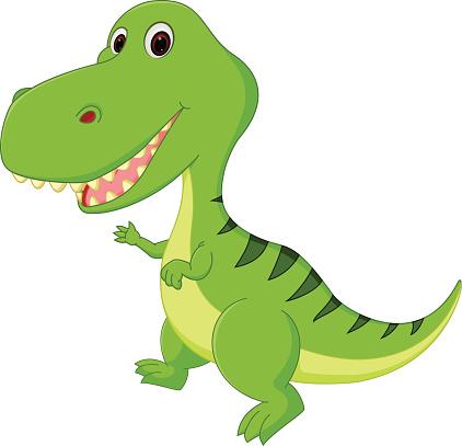 Cute Dinosaur Cartoon Stock Illustration Download Image Now Istock