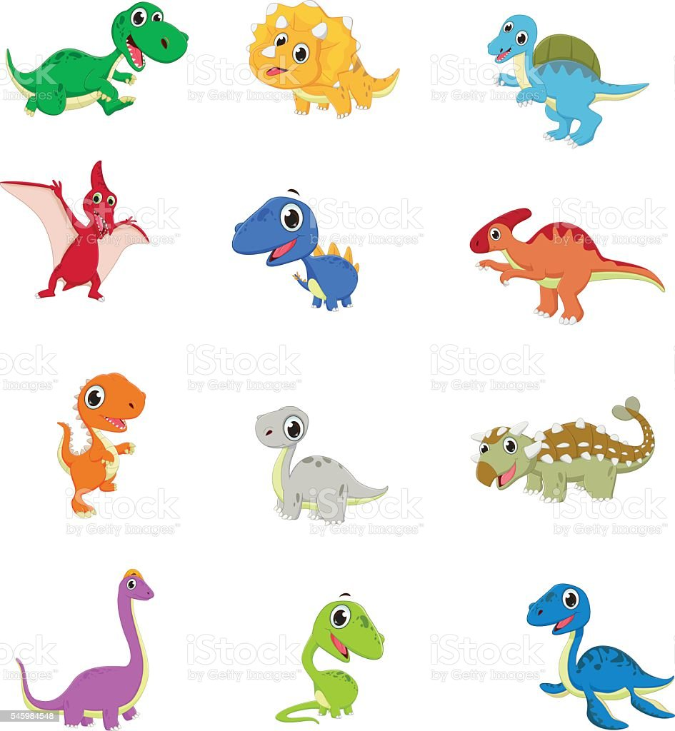 how to draw a cute dinosaur baby