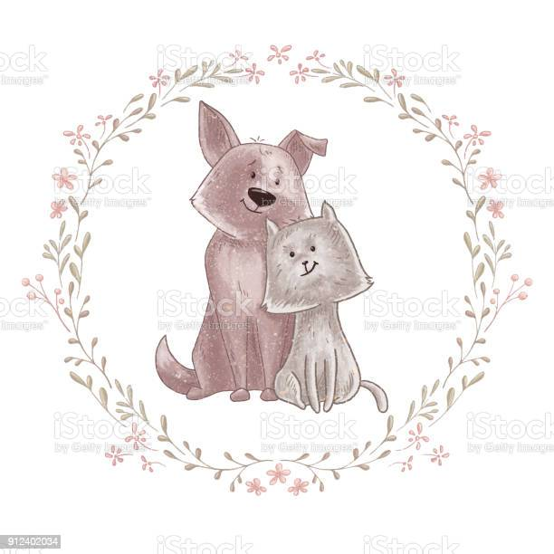 Cute dog and cat vector id912402034?b=1&k=6&m=912402034&s=612x612&h=l0 4un5wsaowsuwyddm 1tndaoma ugdonwpdp85dv4=