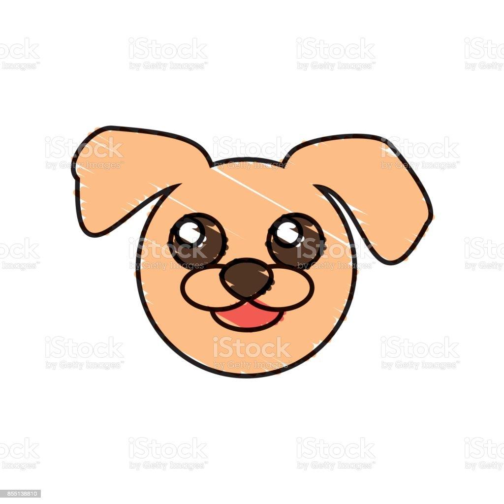 Sevimli Köpek çizim Hayvan Stok Vektör Sanatı Animasyon Karakter