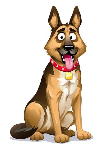 Cute Dog- German Shepherd