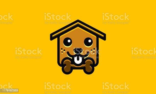 Cute dog house logo illustration vector id1179182053?b=1&k=6&m=1179182053&s=612x612&h=n3y7 fia ixjc4tzdzuyxl79vo0gj4fqhapm3jesfvy=