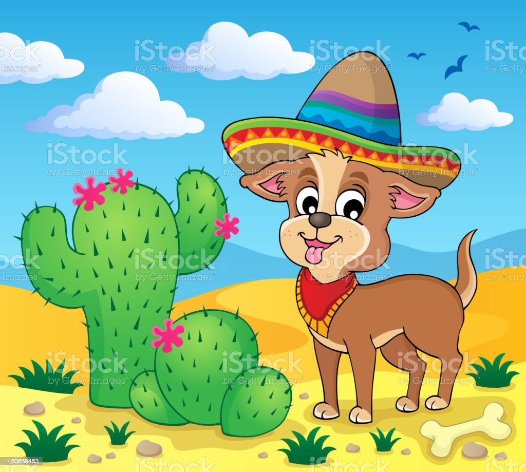 Cute dog theme image 4 royalty-free cute dog theme image 4 stock vector art & more images of animal