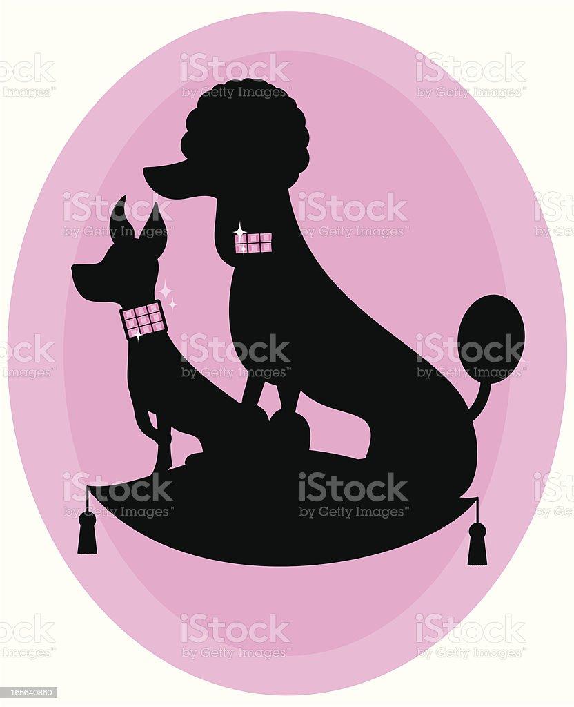 Cute Doggies royalty-free stock vector art