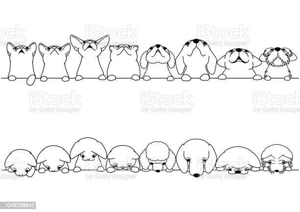 Cute dogs and cats looking up and down border set vector id1049299942?b=1&k=6&m=1049299942&s=612x612&h=8w2dzjnjcxv lk7 ysx0tnqfedgbftqgm1mot8uvkdc=