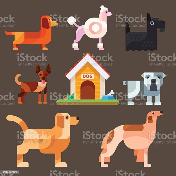 Cute dogs around the kennel vector id496975080?b=1&k=6&m=496975080&s=612x612&h=hvyyik5xzsch6ryhdbrezngook e9ny5q6atwp w8nk=