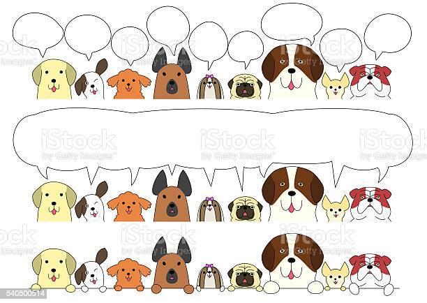 Cute dogs border set vector id540500514?b=1&k=6&m=540500514&s=612x612&h=ziduajjs0roqolsycnefnfsnifc85ujbfjiw7l4jx8s=