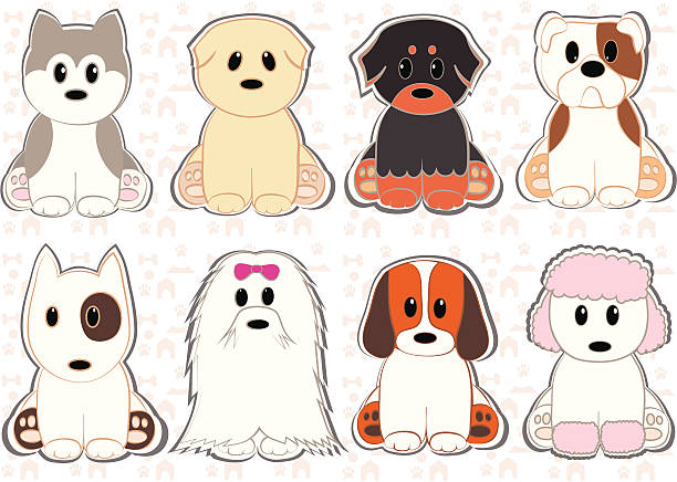 Royalty Free Lhasa Apso Clip Art, Vector Images