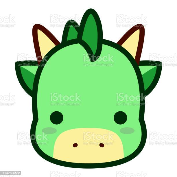 Cute dragon face isolated on white background vector id1142866585?b=1&k=6&m=1142866585&s=612x612&h=pb5niqecegkjr8x061ra8 h8j0xvtfyb7fmvralzngs=