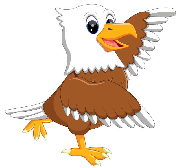 Best Eagle Cartoon Illustrations, Royalty-Free Vector ...