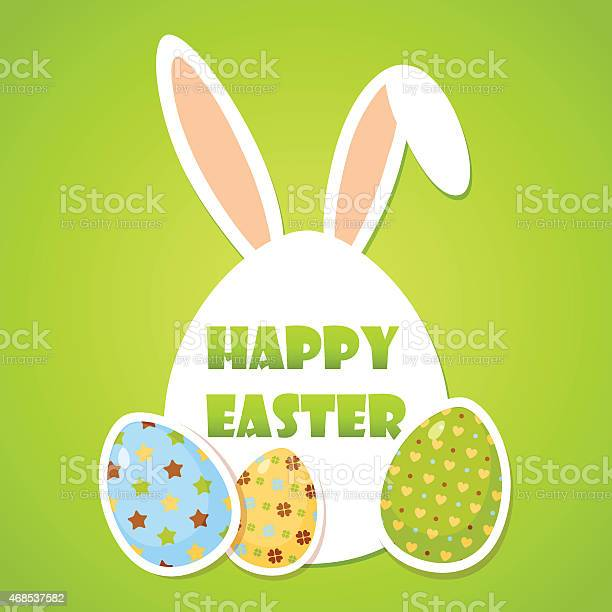 Cute easter poster with eggs and rabbit ears vector id468537582?b=1&k=6&m=468537582&s=612x612&h=id ujdlaho7ma7xehc8eigqny m mkatdbkqmcuyy5c=