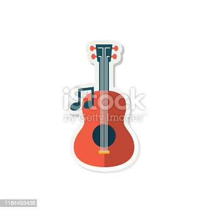 istock Cute Education Icon Sticker 1184493438