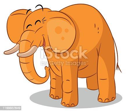 istock Cute Elephant 1199652849