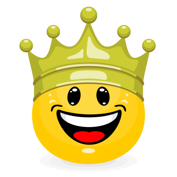 Best Crown Emoji Illustrations, Royalty-Free Vector Graphics & Clip