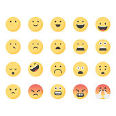 Cute emoticons set 1