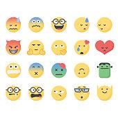 Cute emoticons set 7