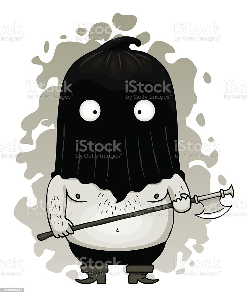 medieval executioner cartoons - 510×612