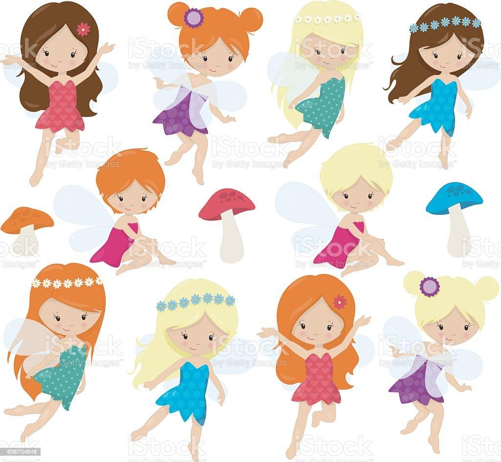 cute fairies stock vector art 638704648 istock