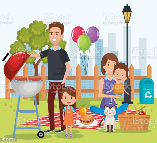 Cute family happy in the picnic day characters vector id939317224?b=1&k=6&m=939317224&s=612x612&h=jwa78urmqe qlunqanwwpsr28dxr0io99tu7xkqyh6i=