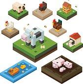 Cute farm animals.