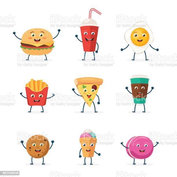 Cute fast food characters vector id852058548?b=1&k=6&m=852058548&s=612x612&h=pe7le mva mse3 kh4hizzvy77a6uerqap9hq5fzbzo=