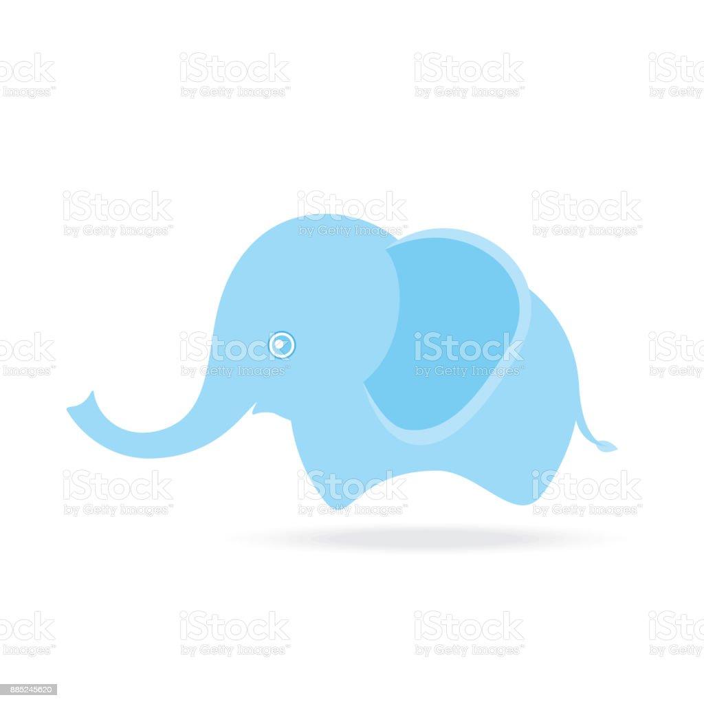 Süße Weibliche Elephant Cartoons Zeichnen Thailand Stock Vektor Art ...