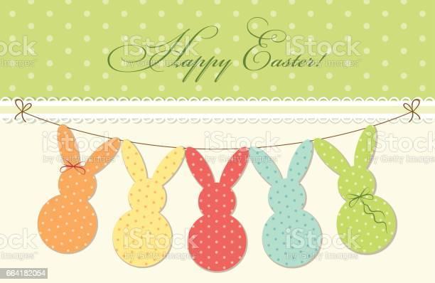 Cute festive easter bunting as polka dots bunnies vector id664182054?b=1&k=6&m=664182054&s=612x612&h=qd1w54 3luvbdmofuicys kk r7glu9ws7rct q1hk4=