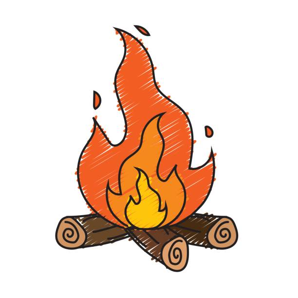 Royalty free firewood clip art vector images