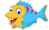 cute fish cartoon for you design