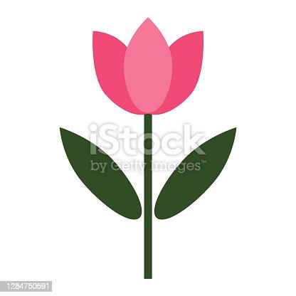 istock cute flower icon 1284750591