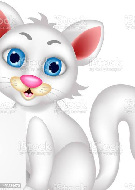 Cute fluffy white cat cartoon with blank sign vector id450534673?b=1&k=6&m=450534673&s=612x612&h=251cn1lklq5t3g911s5szzef9bswb jyisi1xjo1doa=