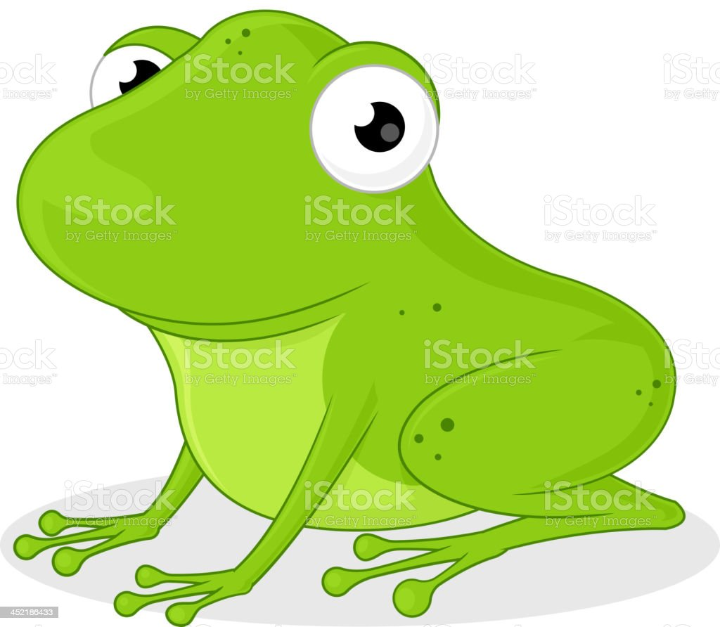 かわいいカエル イラストレーションのベクターアート素材や画像を多数