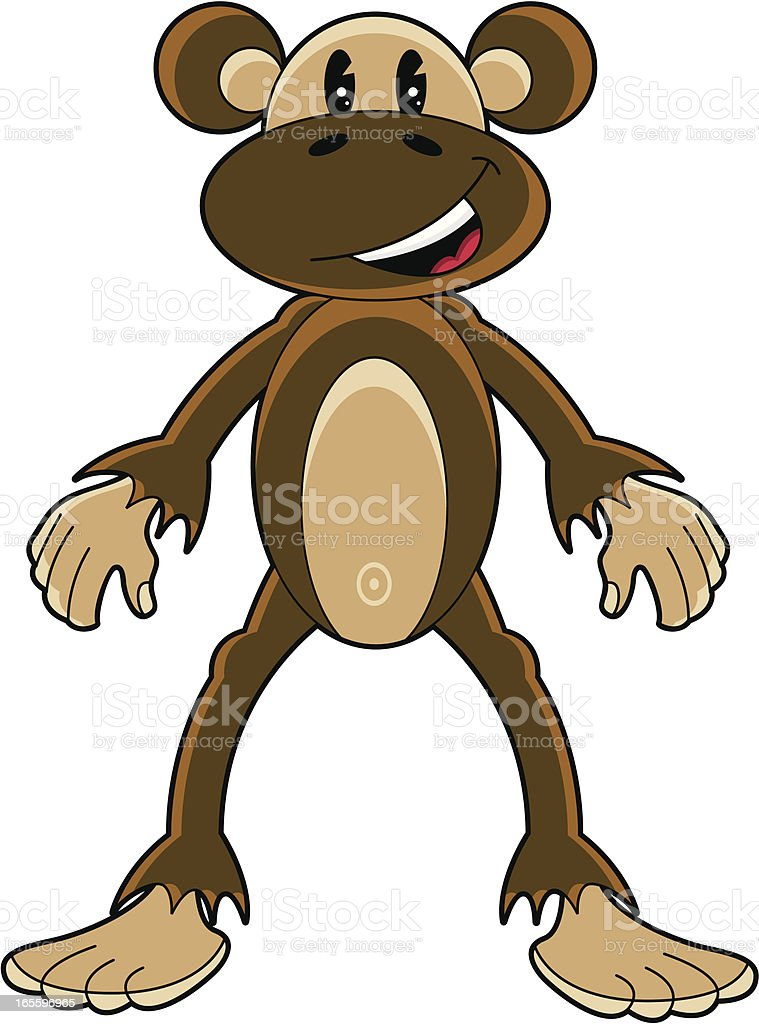 Cute Funky Monkey royalty-free cute funky monkey stock vector art & more images of animal