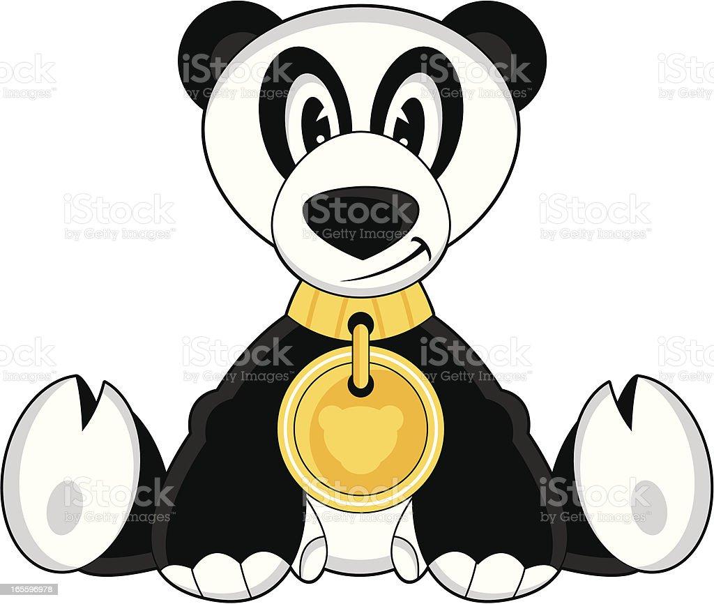 Cute Funky Panda Character royalty-free cute funky panda character stock vector art & more images of animal