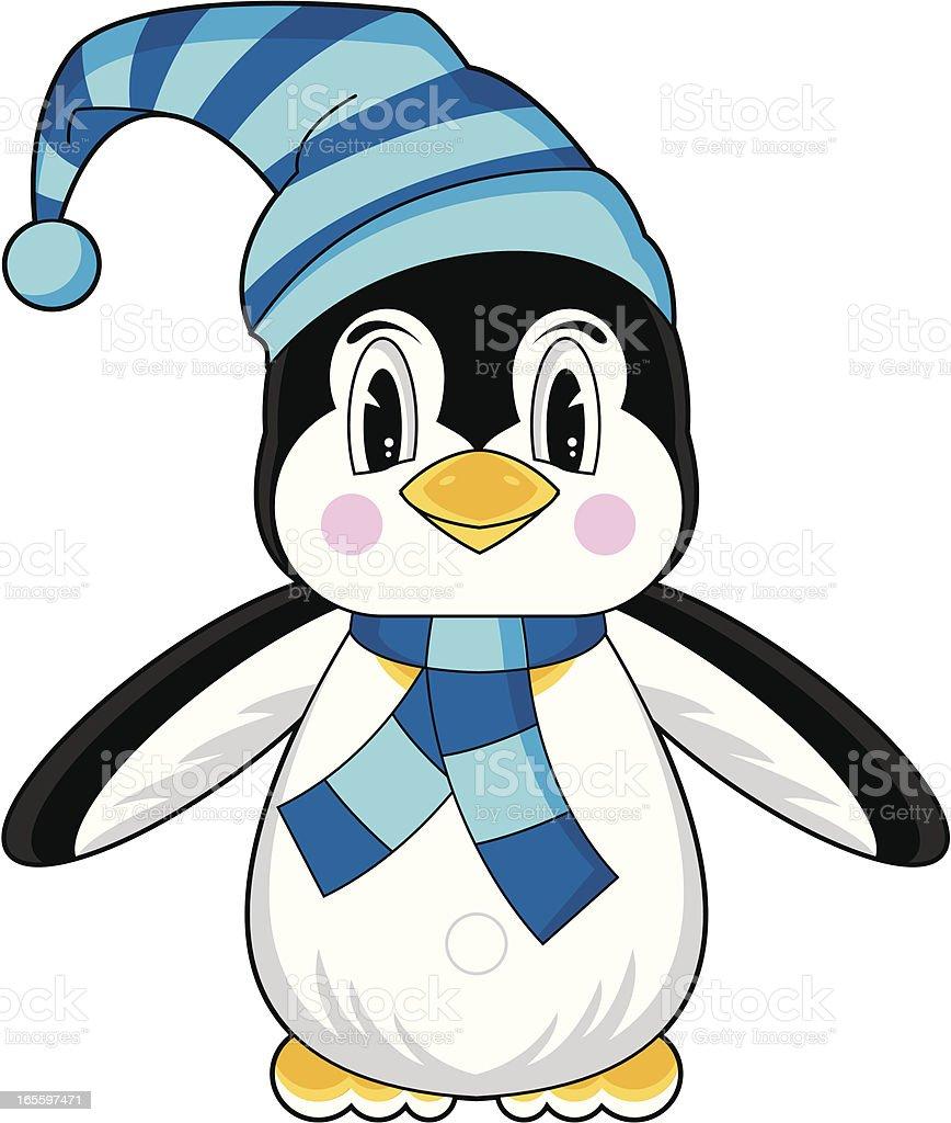 Linda Funky pingüino caracteres ilustración de linda funky pingüino caracteres y más banco de imágenes de amarillo - color libre de derechos