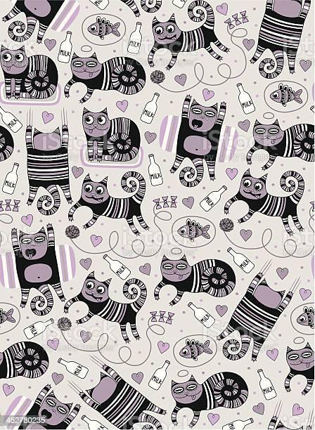 Cute funny cats seamless background vector id452780235?b=1&k=6&m=452780235&s=612x612&h=vgbr4oiv lhvy1eqjuo2xuhkv3wq6ydljf1da0ezooi=