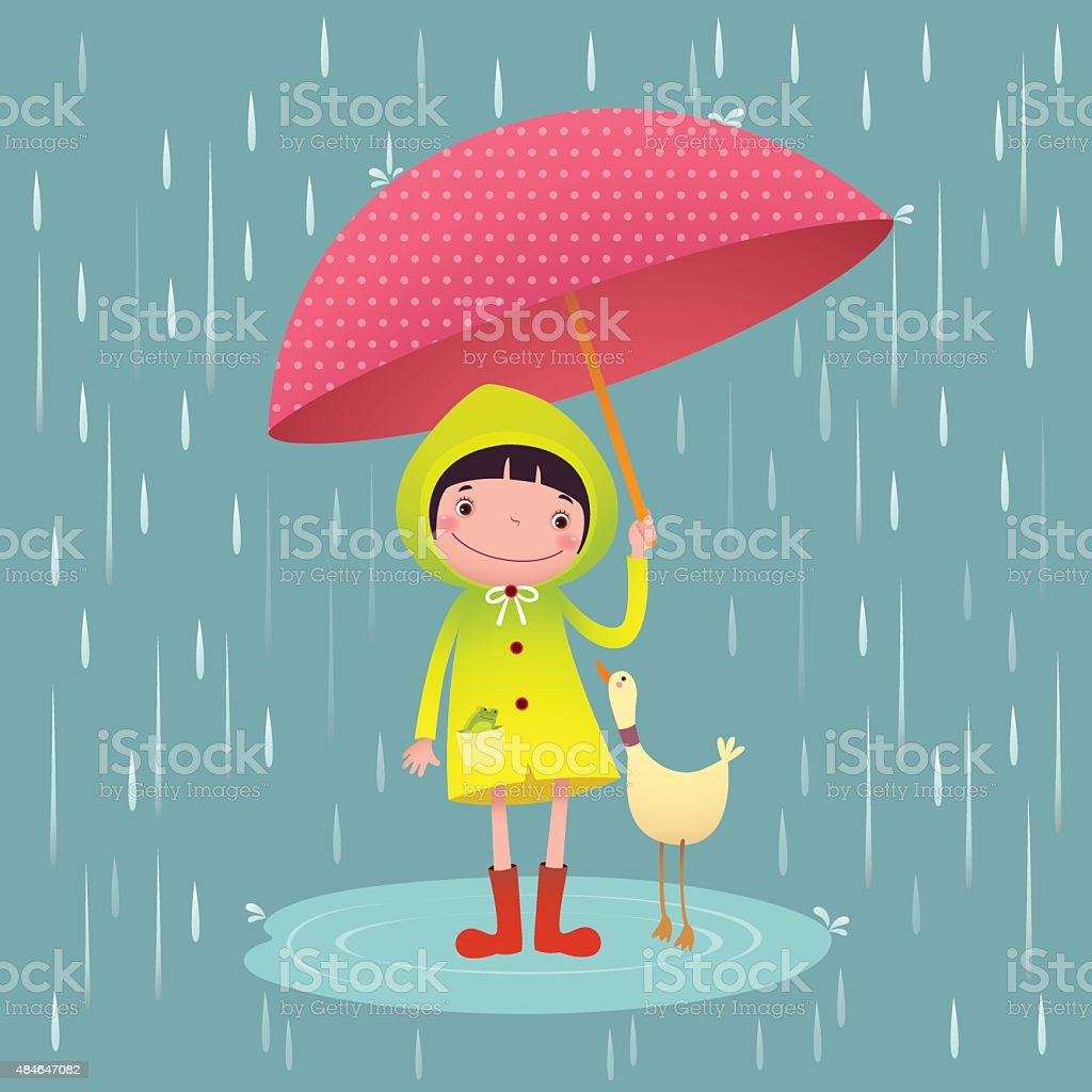 Clip Art Rainy Day Quotes: Royalty Free Raincoat Clip Art, Vector Images