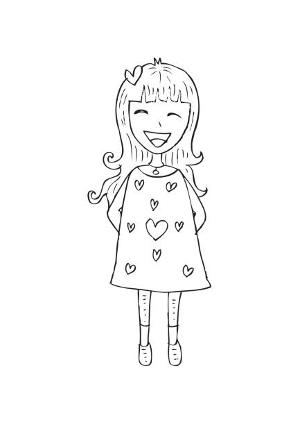 12 Fille Illustrations Royalty Free Vector Graphics Clip Art Istock