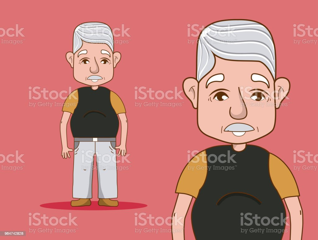 Cute grandfather cartoon royalty-free cute grandfather cartoon stock vector art & more images of adult