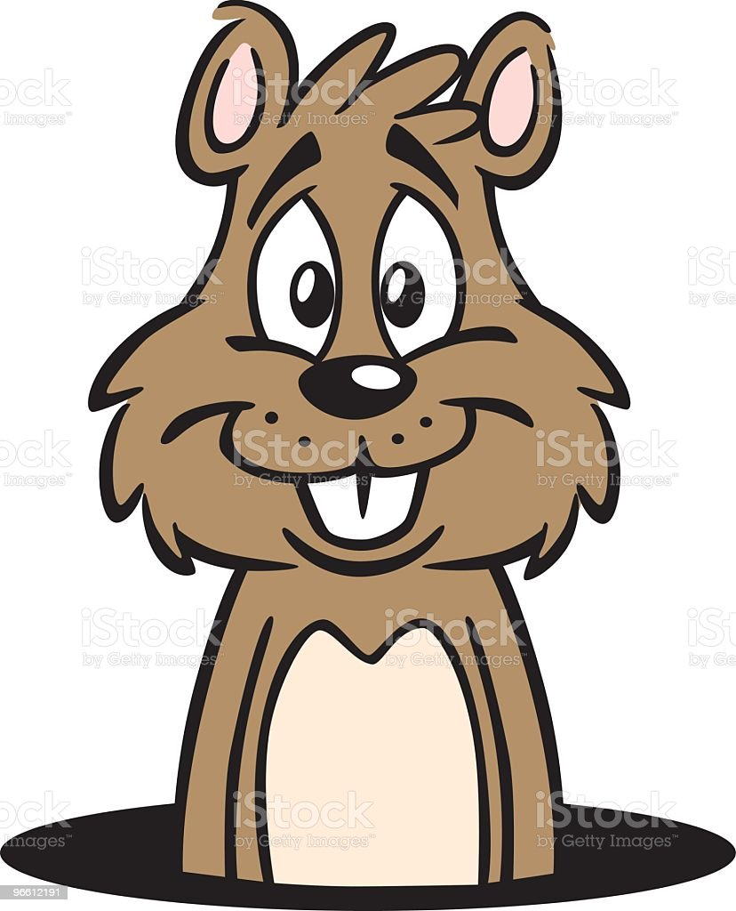 royalty free groundhog day holiday clip art vector images rh istockphoto com free groundhog clipart black and white groundhog day clipart free