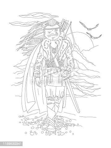 Ucretsiz Viking Warrior Line Art Psd Dosyalari Vektorler Ve Grafikler