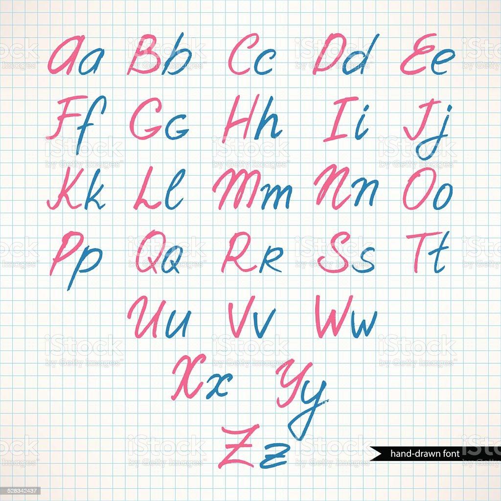 かわいい手書き文字 のイラスト素材 528342437 | istock