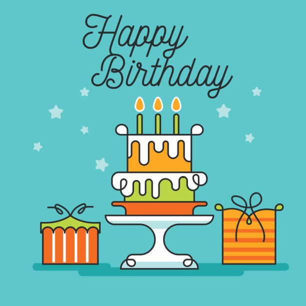 Royalty Free Happy Half Birthday Clip Art Vector Images
