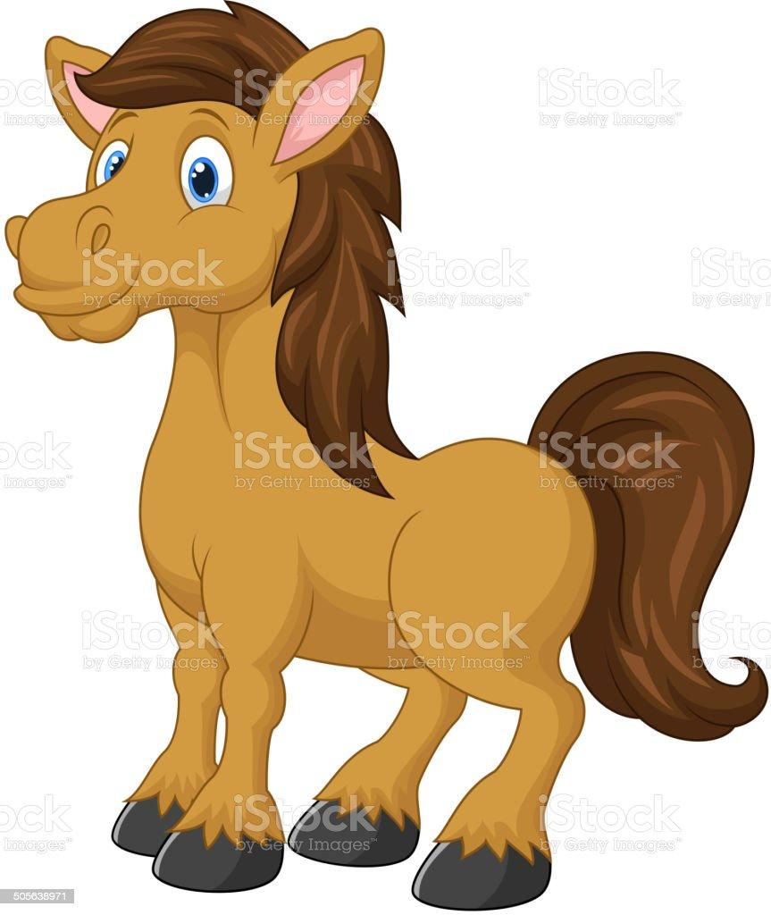 dessin cheval mignon