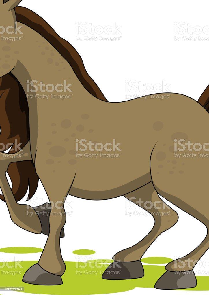 귀여운 말 royalty-free 귀여운 말 가축에 대한 스톡 벡터 아트 및 기타 이미지